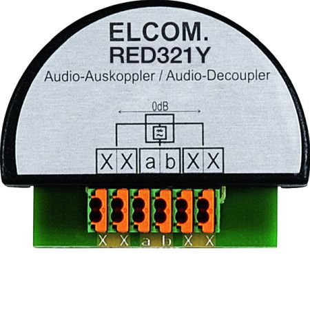 Elcom Audio-Auskoppler RED321Y