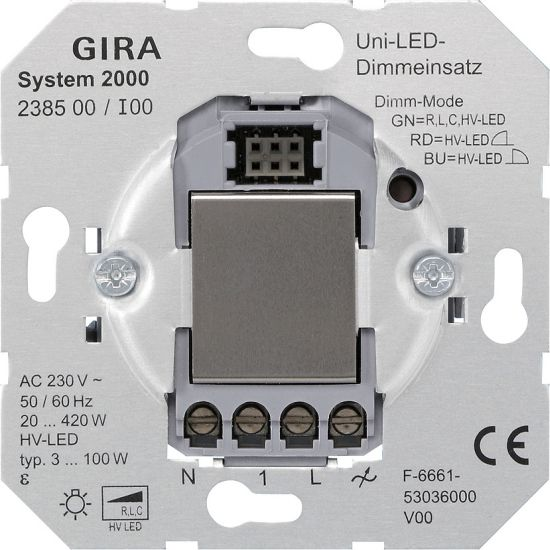 Gira LED-Dimmeinsatz 238500