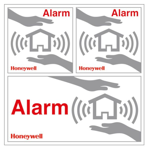 Honeywell Home Aufkleber Set HS3WS2S