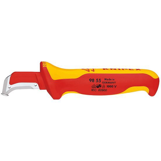 Knipex Abmantelungsmesser 98 55 EAN Nr. 4003773022558
