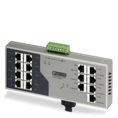 Phoenix Contact Industrial Ethernet Switch 2832661 Typ FL SWITCH SF 15TX/FX