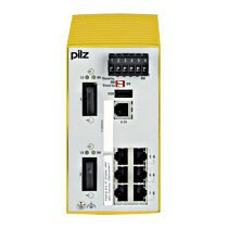 Pilz Ethernet Switch 380650 PSSnet SHL 6T 2FSMSC MRP