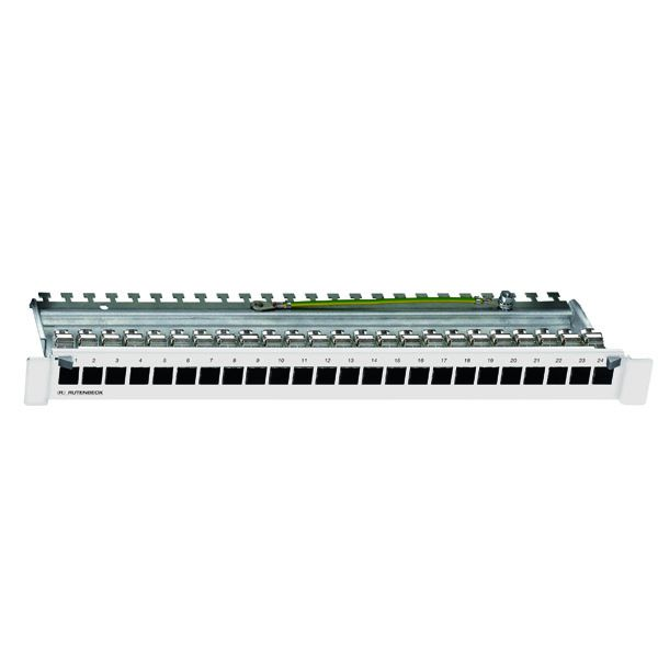 Rutenbeck Patchpanel 239101000 Typ PP-UM-Cat.6A iso-24/24/1 basic