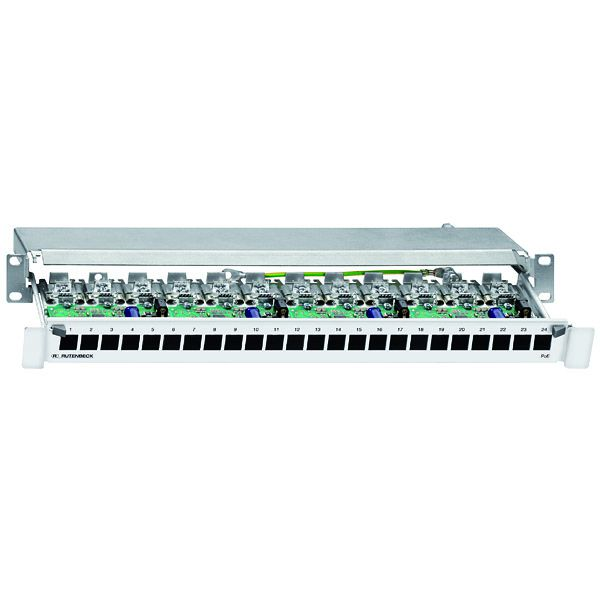 Rutenbeck PoE Patchpanel 23510302 Typ PP-24/1 PoE